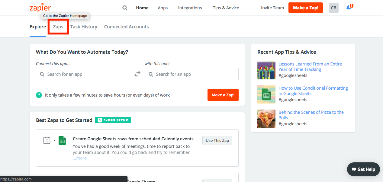 How to configure secure Google Form notifications using Zapier